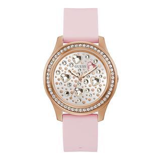 guess - Uhr - Women Watch Heartbeat Pink - in rosa - für Damen