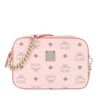 MCM - Umhängetasche - Visetos Original Camera Crossbody Bag Powder Pink - in rosa - für Damen