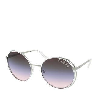 guess - Sonnenbrille - GU7697-S Sonnenbrillen Metal Havanna Dunkel - in grau - für Damen