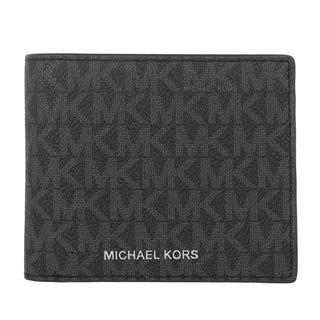 MICHAEL KORS - Portemonnaie - Men Billfold Coin Pocket Wallet Black - in schwarz - für Damen