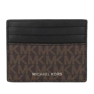 MICHAEL KORS - Portemonnaie - Men Tall Card Case Brown Black - in braun - für Damen