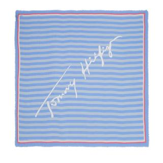 TOMMY HILFIGER - Accessoire - Tommy Signature Square Light Iris Blue - in bunt - für Damen