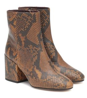 Dries Van Noten - Ankle Boots aus Leder