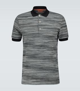 Missoni - Poloshirt aus Baumwollpiqué