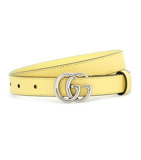 Gucci - Gürtel GG aus Leder