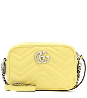 Gucci - Schultertasche GG Marmont Mini