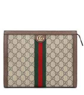 Gucci - Clutch Ophidia GG Medium aus Canvas