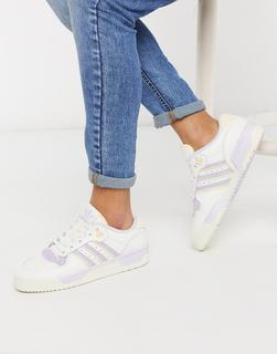 adidas Originals - Rivalry – Niedrige Sneaker in gebrochenem Weiß