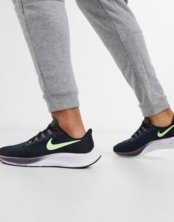 Nike Running - Air Zoom Pegasus 37 – Sneaker in Schwarz/Volt
