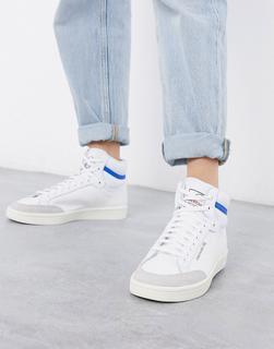 adidas Originals - Americana Hi – Sneaker in Weiß-Schwarz