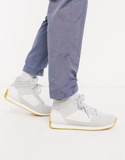 ASOS DESIGN - Knöchelhohe Retro-Sneaker in Grau