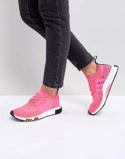 adidas Originals - NMD Racer – Sneaker in Neonrosa