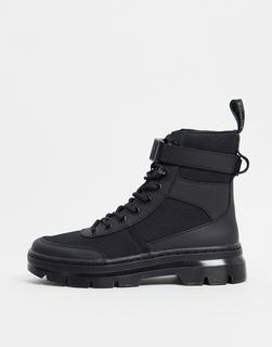 DR. MARTENS - Combs Tech – Ankle-Boots mit Knöchelriemen in Schwarz