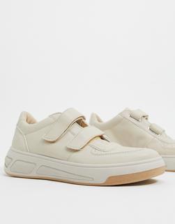 ASOS DESIGN - Dario – Skater-Sneaker in Beige