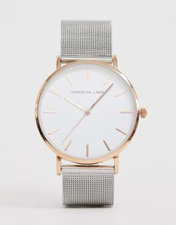 Christin Lars - Herren-Armbanduhr in Silber/Roségold-Mehrfarbig
