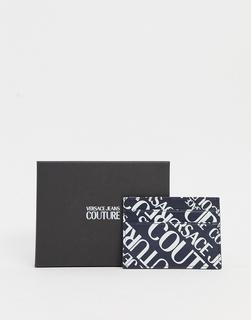 Versace Jeans Couture - Versace Jeans – Couture – Kartenetui mit Logodesign-Schwarz