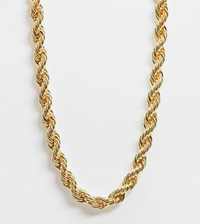 Reclaimed Vintage - Inspired – Kordelhalskette aus 14-karätigem Gold