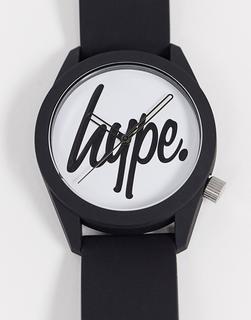 Hype - Armbanduhr in Schwarz und Weiß