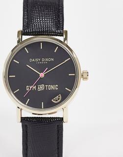 DAISY DIXON - Gym and Tonic – Schwarze Armbanduhr