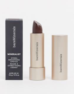bareMinerals - Mineralist Hydra Smoothing – Lippenstift, Willpower-Braun