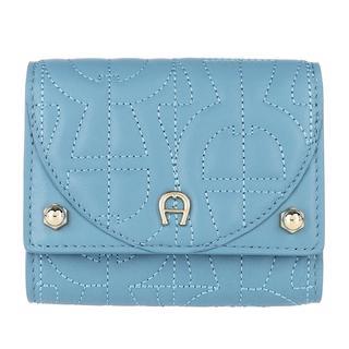 Aigner - Portemonnaie - Diadora Wallet Dusk Blue - in blau - für Damen