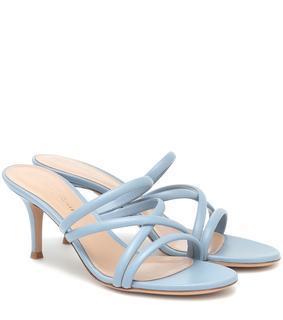 Gianvito Rossi - Sandalen aus Leder