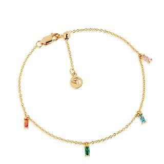 Sif Jakobs Jewellery - Armband - Princess Baguette Bracelet Yellow Gold - in bunt - für Damen