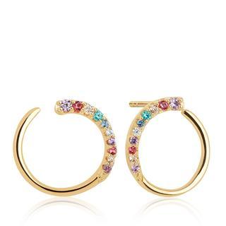 Sif Jakobs Jewellery - Ohrringe - Portofino Earrings Yellow Gold - in bunt - für Damen