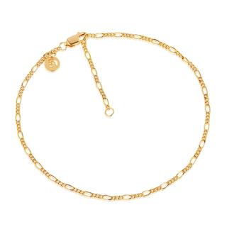 Sif Jakobs Jewellery - Armband - Figaro Ankle Chain Yellow Gold - in gelbgold - für Damen