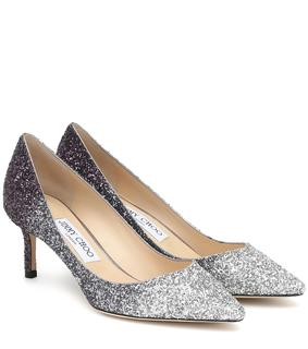 Jimmy Choo - Pumps Romy 60 mit Glitter