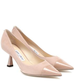 Jimmy Choo - Pumps Sue 65 aus Veloursleder