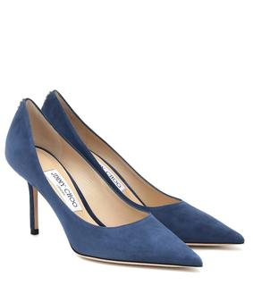 Jimmy Choo - Pumps Love 85 aus Veloursleder