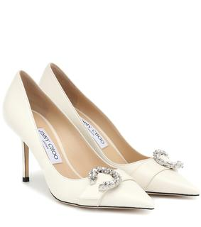 Jimmy Choo - Pumps Saresa 85 aus Leder