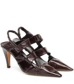 Bottega Veneta - Pumps BV Point 90 aus Leder