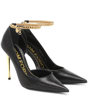 Tom Ford - Verzierte Pumps aus Leder