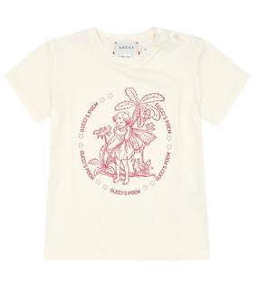 Gucci Kids - Baby T-Shirt aus Baumwolle