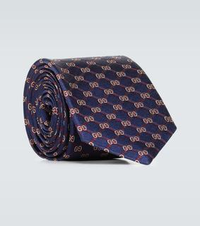 Gucci - Krawatte GG Rhombus aus Seide