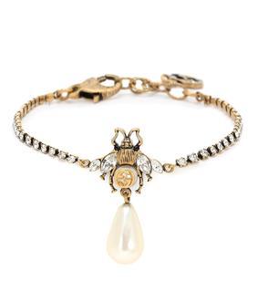 Gucci - Armband mit Kristallen