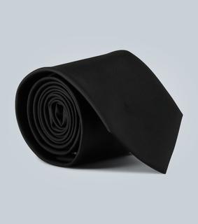 Prada - Krawatte aus Twill mit Logo
