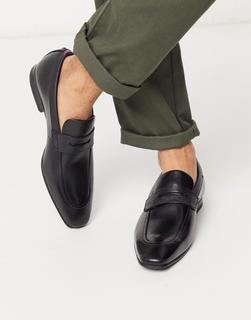 TED BAKER - Galle – Loafer aus Leder in Schwarz
