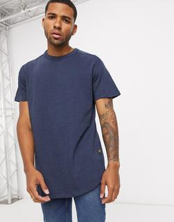 G-Star - Originals – T-Shirt mit Logoetikett, in Marine-Navy - 35.00 €