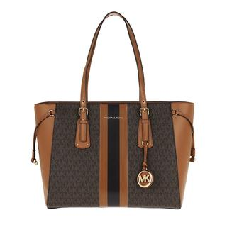 MICHAEL KORS - Tote - Voyager Medium TZ Tote Bag Brown Acorn - in braun - für Damen