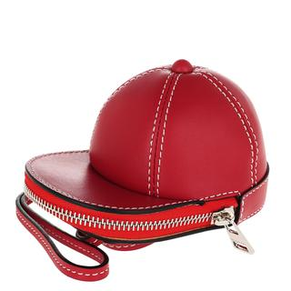 JW Anderson - Umhängetasche - Nano Cap Crossbody Bag Cherry - in rot - für Damen