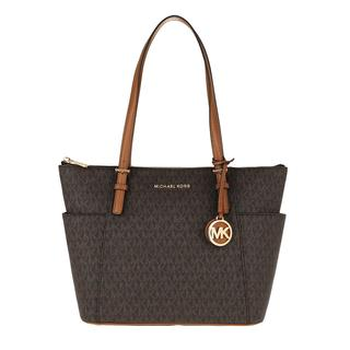 MICHAEL KORS - Tote - Jet Set Item EW TZ Tote Bag Brown Acorn - in braun - für Damen