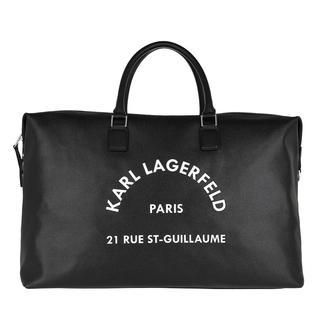KARL LAGERFELD - Reisetasche - Rue St Guillaume Weekender Black - in schwarz - für Damen