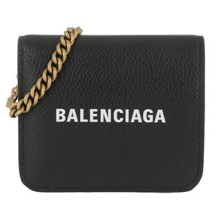 balenciaga - Umhängetasche - Cash Wallet On Chain Black White - in schwarz - für Damen