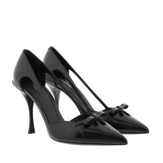 Dolce & Gabbana - Pumps - Bow Patent Pump Black - in schwarz - für Damen
