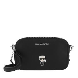 KARL LAGERFELD - Umhängetasche - Karl Ikonik Metal Pin Camera Bag Black - in schwarz - für Damen