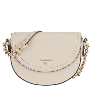 MICHAEL KORS - Umhängetasche - Jet Set Charm Medium Half Dome Chain Crossbody Light Sand - in beige - für Damen