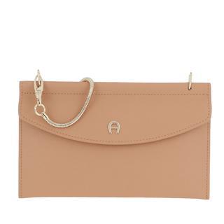 Aigner - Umhängetasche - Fashion Smartphone Bag Vacchetta Brown - in beige - für Damen